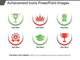 Achievement Icons PowerPoint Images