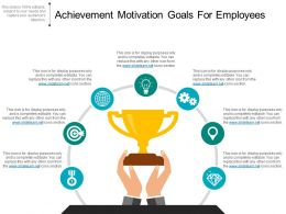 Achievement Motivation Goals For Employees Sample Of Ppt