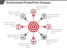 Achievement Powerpoint Shapes