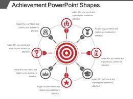 Achievement Powerpoint Shapes