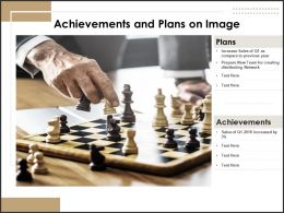 Achievements And Plans On Image