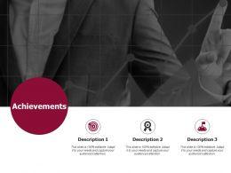 Achievements Arrows Goal D292 Ppt Powerpoint Presentation Infographics Graphics