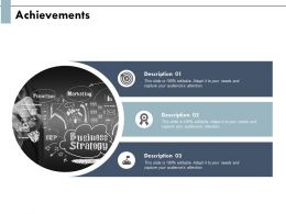 Achievements Arrows Strategy Ppt Powerpoint Presentation Show Tips