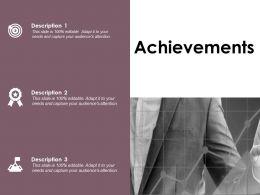 Achievements Arrows Success D159 Ppt Powerpoint Presentation File Icons
