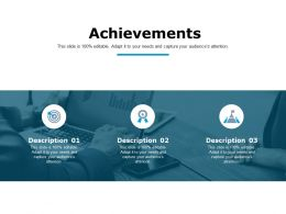 Achievements Business Management Ppt Powerpoint Presentation Outline Graphics Download
