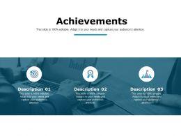 Achievements Business Management Ppt Powerpoint Presentation Outline Graphics Download