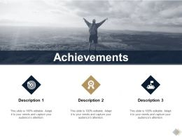 Achievements Checklist Ppt Powerpoint Presentation Summary