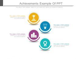 Achievements Example Of Ppt