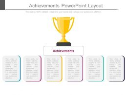 Achievements Powerpoint Layout