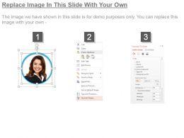 96543863 Style Essentials 1 Portfolio 5 Piece Powerpoint Presentation Diagram Template Slide