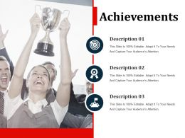 Achievements Powerpoint Slide Presentation Tips