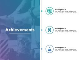 Achievements Ppt Example File Powerpoint Slide Background Designs