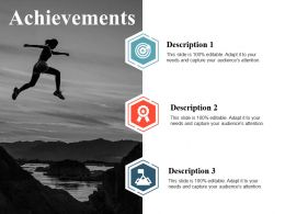 Achievements Ppt Model