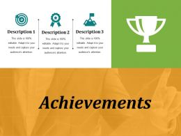 Achievements Presentation Visual Aids