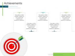 Achievements Presenting Oneself For A Meeting Ppt Graphics