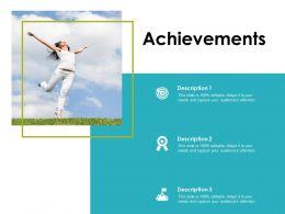 Achievements Success Goal D285 Ppt Powerpoint Presentation Gallery Slide Download