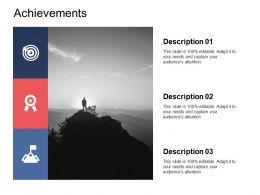Achievements Success Planning Ppt Powerpoint Presentation Professional Demonstration
