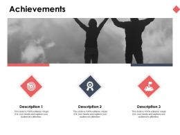 Achievements Success Ppt Powerpoint Presentation Ideas Professional
