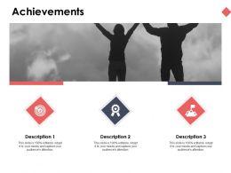 Achievements Success Ppt Powerpoint Presentation Ideas Professional