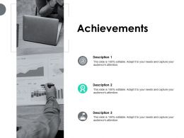 Achievements Targets Goals F279 Ppt Powerpoint Presentation Pictures Backgrounds