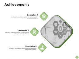 Achievements Vision Ppt Powerpoint Presentation Pictures Example