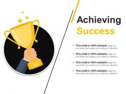 Achieving Success Powerpoint Slide Backgrounds