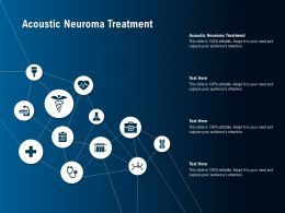 Acoustic Neuroma Treatment Ppt Powerpoint Presentation Gallery Vector
