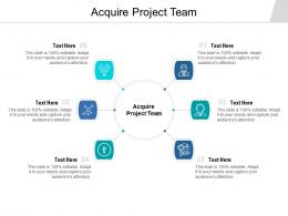 Acquire Project Team Ppt Powerpoint Presentation Ideas Templates Cpb