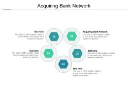 Acquiring Bank Network Ppt Powerpoint Presentation Inspiration Grid Cpb