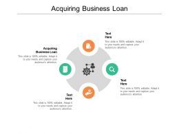 Acquiring Business Loan Ppt Powerpoint Presentation Model Backgrounds Cpb