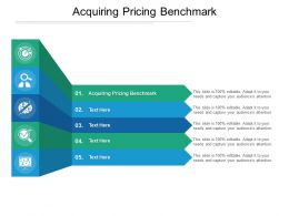 Acquiring Pricing Benchmark Ppt Powerpoint Presentation Portfolio Graphics Pictures Cpb