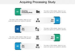 Acquiring Processing Study Ppt Powerpoint Presentation Infographics Guide Cpb