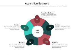Acquisition Business Ppt Powerpoint Presentation Outline Graphics Design Cpb