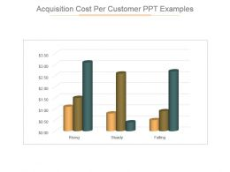 Acquisition Cost Per Customer Ppt Examples