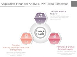 Acquisition Financial Analysis Ppt Slide Templates
