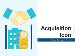 Acquisition Icon Business Development Relationship Financial Horizontal Expansion