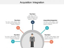 Acquisition Integration Ppt Powerpoint Presentation Gallery Example Introduction Cpb