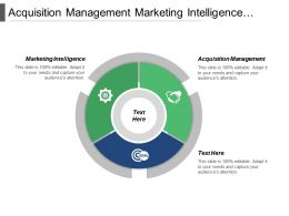Acquisition Management Marketing Intelligence Financial Management Strategic Management Cpb