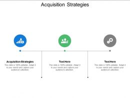Acquisition Strategies Ppt Powerpoint Presentation Infographic Template Example 2015 Cpb