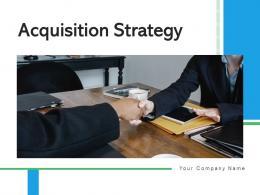 Acquisition Strategy Inorganic Business Growth Optimization Engagement