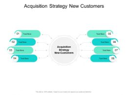 Acquisition Strategy New Customers Ppt Powerpoint Presentation Ideas Cpb