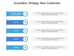 Acquisition Strategy New Customers Ppt Powerpoint Presentation Outline Cpb