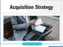 Acquisition Strategy Organization Negotiation Technology Growth Planning