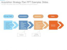 Acquisition Strategy Plan Ppt Examples Slides