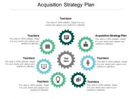 Acquisition Strategy Plan Ppt Powerpoint Presentation Slides Rules Cpb