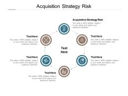 Acquisition Strategy Risk Ppt Powerpoint Presentation Professional Example Topics Cpb