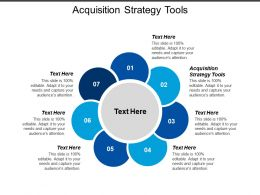 Acquisition Strategy Tools Ppt Powerpoint Presentation File Example Topics Cpb