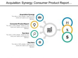 Acquisition Synergy Consumer Product Report Marketing Sales Marketing Solution Cpb