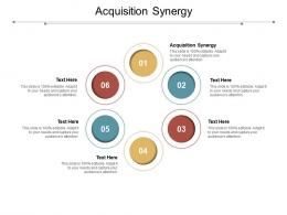 Acquisition Synergy Ppt Powerpoint Presentation Show Gridlines Cpb