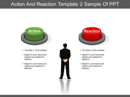 Action And Reaction Template 2 Sample Of Ppt
